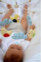 Detské doplnky - Kolotoč vtáčikovoobláčikový - 3007976