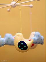Detské doplnky - Kolotoč vtáčikovoobláčikový - 3007979