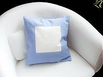 Úžitkový textil - _biela v modrej - 3010048