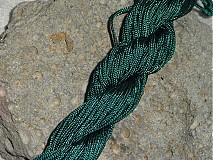 Galantéria - Nylonová šnúrka 1,5mm Tmavozelená 15 - 3013182