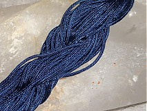 Galantéria - Nylonová šnúrka 1,5mm Tmavomodrá 23 - 3013192