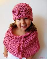 Detské čiapky - Ružová sa mi páči - 3013800