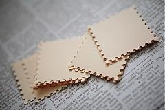 Papiernictvo - Krémové menovky na svadbu - 3014018