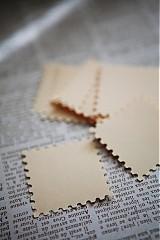 Papiernictvo - Krémové menovky na svadbu - 3014020