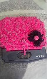 "Kabelky - Kabelka  ""pink hooked spaghetti bags"" - 3030080"