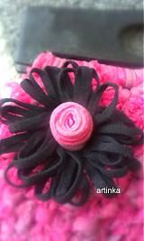 "Kabelky - Kabelka  ""pink hooked spaghetti bags"" - 3030081"