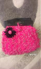 "Kabelky - Kabelka  ""pink hooked spaghetti bags"" - 3030089"