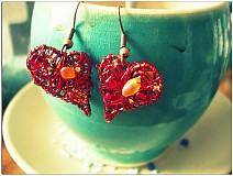 Náušnice - Hearts - 3032031
