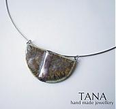 - Tana šperky - keramika/platina - 3045117