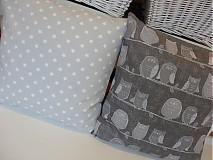 Úžitkový textil - dekoračné vankúše 100% bavlna - 3046964