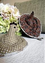 Úžitkový textil - Sliepka vs. kohút 47 - 3050851