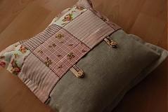 Úžitkový textil - Ružový poťah na vankúš - 305224