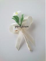 Pierka - svadobné pierko - krémová kala - 3057986