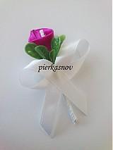 Pierka - svadobné pierko - cyklamenová kala - 3058041