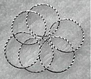 Komponenty - Krúžok ozdobný 18mm-plat-1ks - 3058118