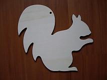 Tabuľky - Veverička - tabuľka - 3060568
