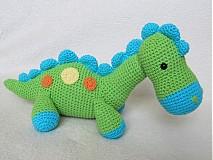 Návody a literatúra - Háčkovaný dinosaurus Dino - návod - 3063759