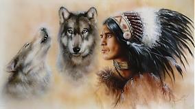 Obrazy - Indian vision  - 3068522
