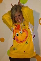 Detské oblečenie - žirafková mikina - 3070500