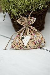 Darčeky pre svadobčanov - Vrecúško kvetinkove - 3078811
