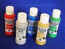 Farby-laky - AKCIA - Metalizované farby na textil - 3080118