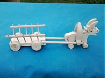 Hračky - somárik z vozíčkom - 3080596