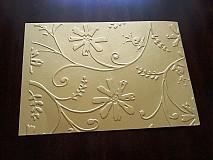 Papiernictvo - Embosovaný papier - 5 typov - 3090301