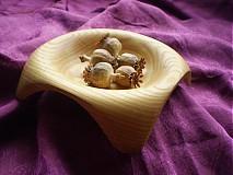 Nádoby - Miska z jaseňa