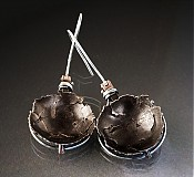 Náušnice - CRACKED SHELL EARRINGS (Inclusions) - 3091485
