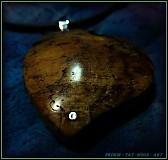 Náhrdelníky - 332. náhrdelník Jablůňkové Srdca - 3093394