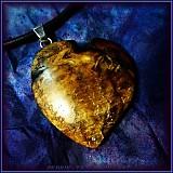 Náhrdelníky - 332. náhrdelník Jablůňkové Srdca - 3093395