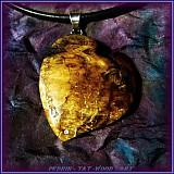 Náhrdelníky - 332. náhrdelník Jablůňkové Srdca - 3093397
