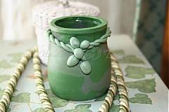 svietnik zelený - skladom