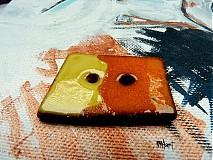 Materiál ručne robený - Gombík - 3101006