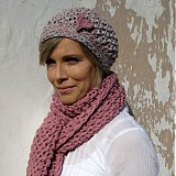 Čiapky - pink or grey? čiapka - 3102259