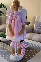 Bábiky - Ružový anjel - 3105409