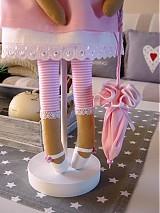 Bábiky - Ružový anjel - 3105419