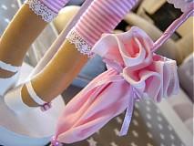 Bábiky - Ružový anjel - 3105420