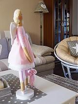 Bábiky - Ružový anjel - 3105422