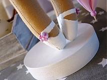 Bábiky - Ružový anjel - 3105424