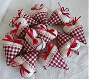 Darčeky pre svadobčanov - Srdiečka rustikale - 3105695