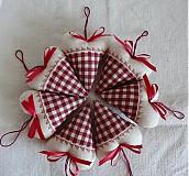 Darčeky pre svadobčanov - Srdiečka rustikale - 3105696