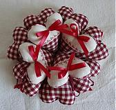 Darčeky pre svadobčanov - Srdiečka rustikale - 3105697