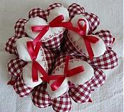 Darčeky pre svadobčanov - Srdiečka rustikale - 3105698