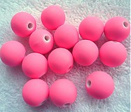 - MATT plast 12mm-ružová neon-1ks - 3111465