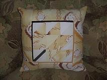 Úžitkový textil - ♣*‿*♣ vankušik s jesenným nádychom  ♣*‿*♣ - 3114725