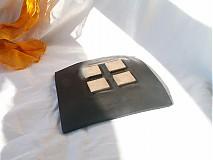 Svietidlá a sviečky - svietnik oranžovo žlto čierny - 3119956
