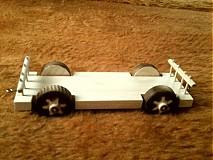 Hračky - drevený vláčik z vagónikmi - 3121675