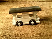 Hračky - drevený vláčik z vagónikmi - 3121676
