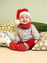 Detské čiapky - Vianočná čiapka (obvod hlavy 54-58 cm /55/ a viac) - 3122166